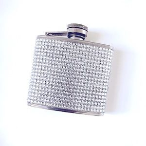Z GALLERIE STAINLESS STEEL FLASK